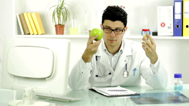 Healthy Fruit Apple Alternative Choice Young Doctor video