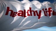 Healthy Life Typography video
