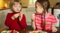 Healthy snack video