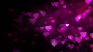 Heart Background. Pink. Loopable. video