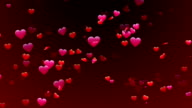 Heart Confetti 1 Loopable Background video