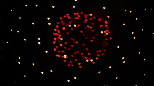 Heart firework video