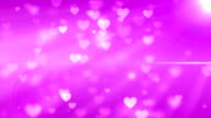 Heart Particles Glowing (Loopable) video
