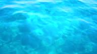 Heart shape appears on water surface. video