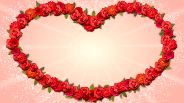 Heart Shaped Frame - Growing Organic Title with Roses video