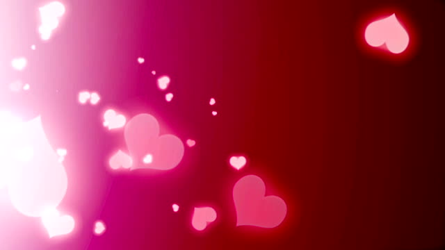 Heart Shaped Particles video