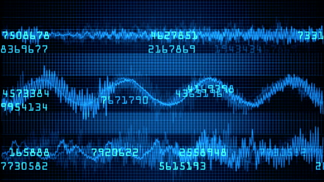 Heart sound wave monitor with random numbers video