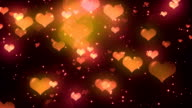 Hearts Background 2 video
