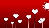 Hearts - valentine's concept video