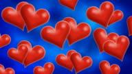 Hearts1 HD LOOP video