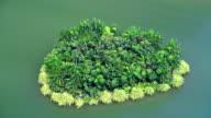 Heart-shaped island video