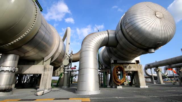 Heat exchanger in Refinery plant video