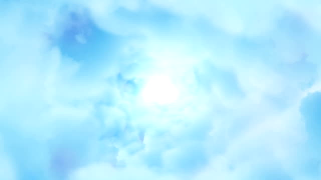 Heavenly flight towards the light video