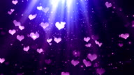 Heavenly Hearts 1 Loopable Background video