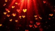 Heavenly Hearts 2 Loopable Background video