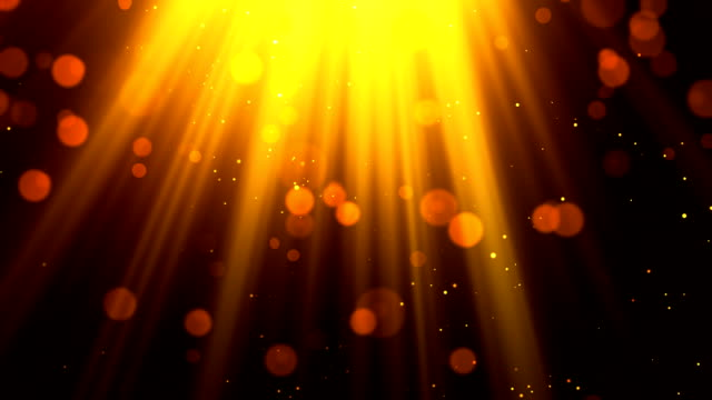 Heavenly Light Rays 1 Loopable Background video