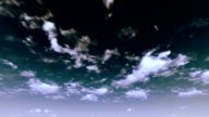 Heavenly Stormy Afternoon Timelapse Clouds video