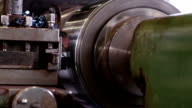 Heavy industry - Mechanical treatment, lathe machine video