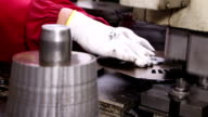 Heavy industry - Mechanical treatment, pressing machine video