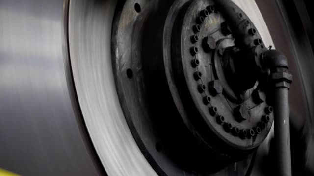heavy industry - rotor press video