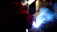 Heavy industry - welding video