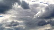 Heavy Rain Dark Clouds Before a Storm video