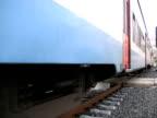 Heavy Train passes, Shakes Platform and Camera video