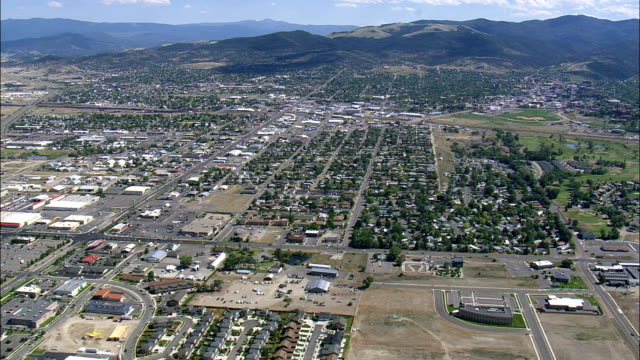 Helena  - Aerial View - Montana, Lewis and Clark County, United States video