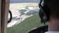 Helicopter Flight to Town video