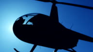 Helicopter in Flight video