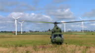 Helicopter Mi-2 taking off video