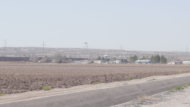 Helicopter Patrols Borderland of US and Mexico video
