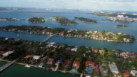 Helicopter ride over Hibiscus and Palm Island video