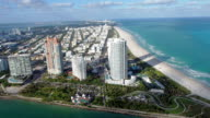 Helicopter ride over South Beach video