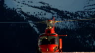 Helicopter Start at Sunset video