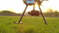SLOW MOTION: RC helicopter takes off video