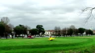Helicopter's Rotors Spinning,Lucca,Italy video