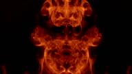 Hell Fire Texture video