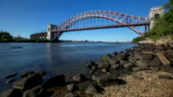 Hell Gate Bridge - Time lapse video