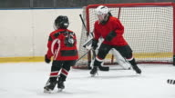 Helping Hand of Little Hockey Defenseman video