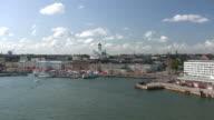 Helsinki harbor and market square video