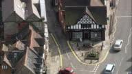 Henley-In-Arden  - Aerial View - England, Warwickshire, Stratford-on-Avon District, United Kingdom video