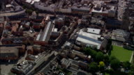 Hereford  - Aerial View - England, Herefordshire, Hereford, United Kingdom video