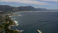 hermanus - Aerial View - Western Cape,  Overberg District Municipality,  Overstrand,  South Africa video