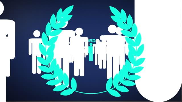 Hero blue laurels video