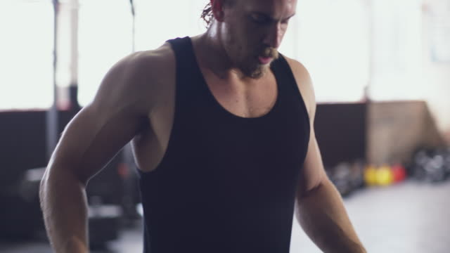 He's a muscle man video