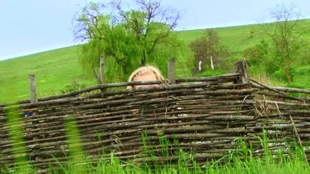 Hiding girl video