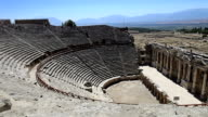 HD: Hierapolis theater, Pamukkale, Denizli/TURKEY video