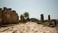 Hierapolis (Pamukkale) Timelapse video