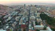 High above the streets of Cape Town video